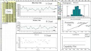 Charts Templates Beauteous X And R Charts In Excel Yolarcinetonicco