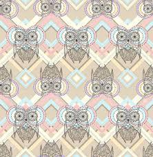 pastel aztec pattern wallpaper. Aztec Pattern With Owls Intended Pastel Wallpaper