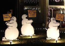 Snowman outdoor Christmas decorations \u2014 ARTSNOLA Home Decor : Wooden