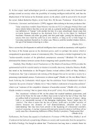 Prometheus and frankenstein essay