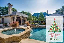 12 Homes of Christmas A Stunning Saltwater Pool