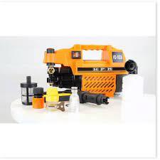 Máy Rửa Xe Mini Đa Năng HPM ,Tăng Áp Lực Rửa Xe Máy Ô Tô Tại Nhà, Gara (  tặng Súng xịt và dây nước) giá cạnh tranh