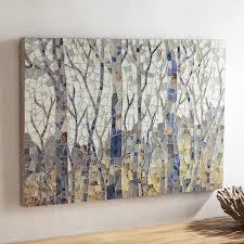 mosaic woodlands wall art pier 1 imports creative ideas