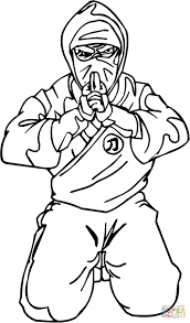Small Picture Ninja Shinobi coloring page Free Printable Coloring Pages