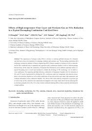(PDF) Effects of High-temperature Char Layer and Pyrolysis Gas on ...