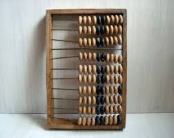 rustic office decor. old wooden abacus 265x 39 cm soviet vintage made in ussr 70s counter rustic office decor n