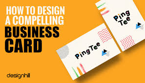 How To Design A Compelling Business Card