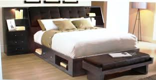 Queen Size Platform Bed With Drawers. Large Size Of Bed Style Beds .