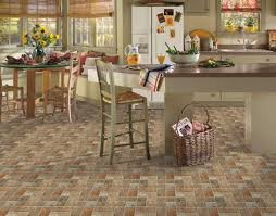 Stone Floor Tiles Kitchen Ceramic Tile Floor Ideas White Painting L Shape Design Brass