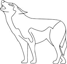 Dessin De Loup Dessins Colorier Coloriage Loup Imprimer Prefix X