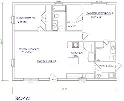 metal house floor plans. 2 Bed, Bath - 30\u0027x40\u0027 1200 Sq. Ft. Metal House Floor Plans U