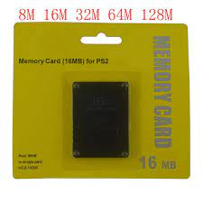 8 16 32 64 128 MB Memory Card for Sony for PS2 with retail box|Memory  Cards