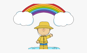 Puddle Clipart Wet Child Free Rainbow And Cloud Clipart