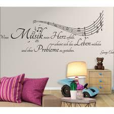 Wandtattoo Wenn Musik Mein Herz Erfüllt Scheint Sich Das Leben