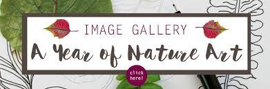 A Year Of Nature Art 52 Weeks Of Nature Art Nature Mandalas