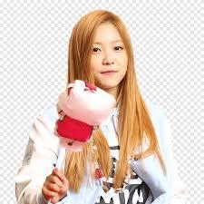 Irene, wendy, seulgi, joy and yeri. Yeri Red Velvet Smiling Woman Holding Animal Stick Png Pngegg