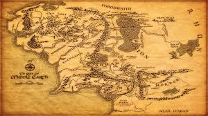 download lotr map of middle earth major tourist attractions maps