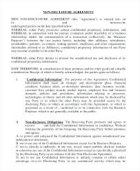 Nda Document Template Lovely Collection Of Non Disclosure Agreement Template Word Best Nda