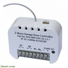 z wave garage doorzConnect ZWave Garage Door Opener  Australia Home Automation
