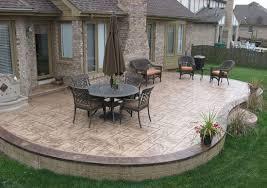 backyard concrete designs. Exellent Designs Stamped Concrete Patio Designs   Patios Pool Decks Decortive Concrete  Colored Retaining And Backyard Concrete Designs R