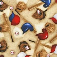 Baseball Sports Life Gloves Hats Bats Tans by Yards Robert Kaufman ... & SRK-14611-153 from Sports Life 3: Robert Kaufman Fabric Company Adamdwight.com