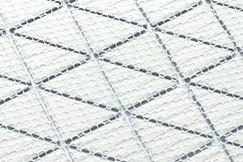 tile mesh triangle mosaic tiles mesh backing easy installation mesh mounted tile home depot