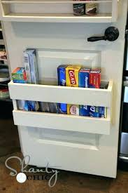 pantry door shelves closet organizer organizers spice rack . Pantry Door Shelves Behind The