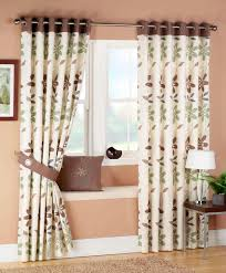 Brown Luxury Curtain Designs 2016 Living Room Curtains Decorating