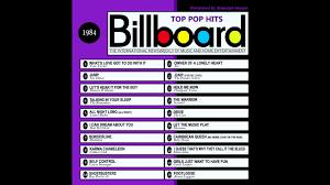 Billboard Top Pop Hits 1984
