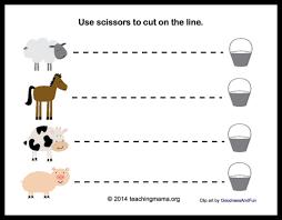 For Farm Animals Letter Printables Fisforfarmanimalscutting