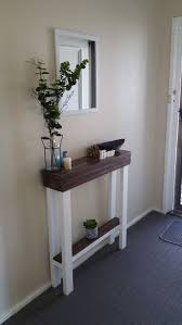 Pallet Entry Table Best 25 Narrow Entry Table Ideas On Pinterest Foyer Table Decor