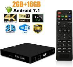 Amazon.com: 7.1 Android TV Box - J-DEAL W1 Newest Android 7.1 Smart TV  Boxsets, Amlogic S905W Quad-Core, 1GB RAM & 8GB ROM, 4K Ultra HD, Support  Video Encoder for H.264, 2.4GHz WiFi,