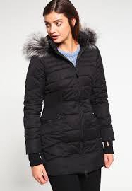yas yasvanya winter coat black women coats yas leather jackets on