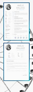 Template For Resume And Cover Letter 100 best Resume Design Layouts images on Pinterest Cv template 36