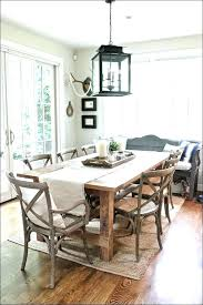 farmhouse dining table chandelier rectangle dining room chandelier rectangle