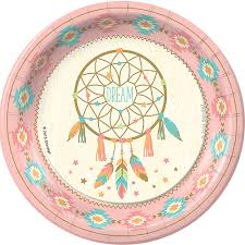 Dream Catcher Party Plates Gorgeous Sweetest Dreams Birthday Party Supplies Theme Party Packs