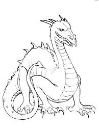 Small Picture Coloring Pages Dragon Coloring Pages Fantasy Printable Coloring