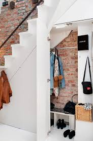 under stair storage ideas closet coat closet under stairs