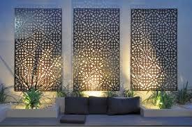 stylish exterior wall art interior decor home bathroom decorations outdoor metal ideas for house australia uk artwork