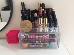 if you want to take your makeup organization very seriously then you can actually build your own vanity that s jam packed with useful storage e