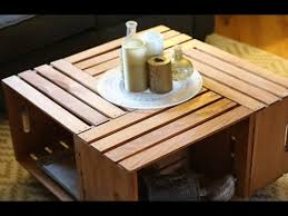 wood crate furniture diy. Build A Coffee Table Using Crates - Furniture DIY Wood Crate Diy