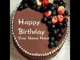 Birthday cake for usman ~ Birthday cake for usman ~ Write name on birthday cake with name youtube