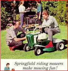 Lawn Mowing Ads 1960s Riding Mower Ad Riding Lawn Mowers Old