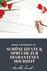Diamantene Hochzeit Sprüche Zitate Und Gedichte