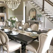 for decorating formal dining room table