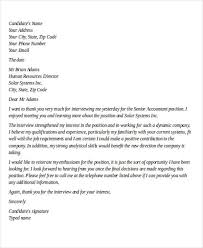 Gallery Of 40 Sample Interview Thank You Letters Thank You Post