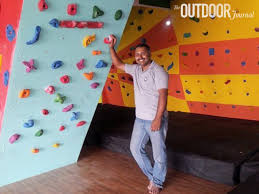 on artificial rock climbing wall in pune with a new climbing gym on the block