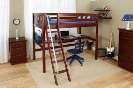 Floating Loft Bed Twin Loft Bed With Desk Rectangle Desk Integrated Ladder Storage