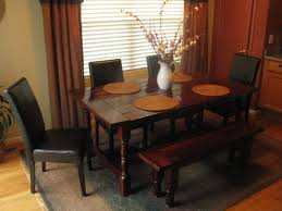 Round Dining Table With Bench Seating Small Kitchen Table With Corner Bench Wood French Kitchen Table