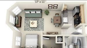 Inspiration Studio Apartment Plans
